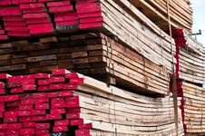 Free Wood Stack Store For Sale Stock Image - 20346801