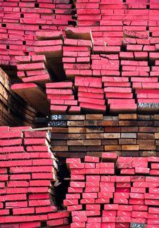 Free Stack Of Lumber  Storage Wood Stock Photo - 20346840