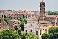 Ancient Edifices Royalty Free Stock Image