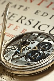 Free Antique Clock Onion Stock Photography - 20347362