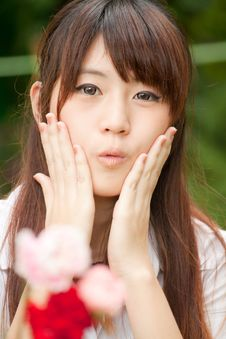 Free Beautiful Asian Girl Stock Photo - 20347600