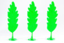 Free Plastic Trees. Royalty Free Stock Image - 20347626