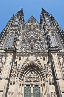 Free Saint Vitus Cathedral Royalty Free Stock Photography - 20347637