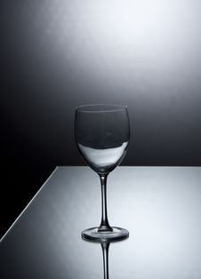 Free Glass On The Mirrow Royalty Free Stock Photography - 20347857