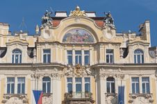 Free Ministry Of Local Development Building At Prague Royalty Free Stock Photos - 20347898