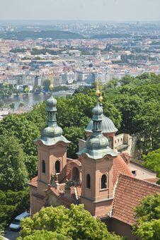 Saint Lawrence At Prague Stock Images