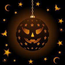 Free Halloween Hanging Lantern Stock Photo - 20348330