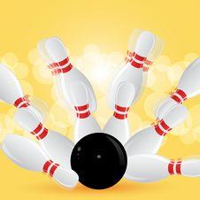 Free Ten Pin Bowling Stock Photography - 20348342