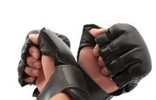 Free Hand With Boxing Gloves Royalty Free Stock Photography - 20348407
