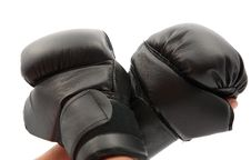 Free Hand With Boxing Gloves Royalty Free Stock Image - 20348436