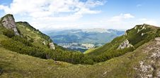 Free Panorama Background In Carpathians. Royalty Free Stock Photo - 20348585
