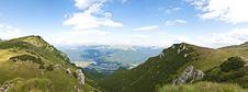 Free Panorama Background In Carpathians. Stock Image - 20348591