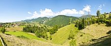 Free Panorama Background In Carpathians. Stock Photography - 20348622