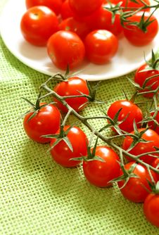 Free Cherry Tomatoes Stock Images - 20349484
