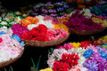 Free Baskets Of Colorful Flowers Stock Images - 20352744
