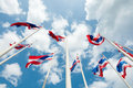 Free Thailand Flag Royalty Free Stock Image - 20353056