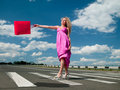 Free Woman In A Pink Dress Royalty Free Stock Photo - 20354255
