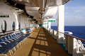 Free Caribbean Cruise - Early Morning Empty Deck Stock Photos - 20357003