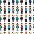 Free Seamless Young Boy Pattern Stock Photo - 20357210