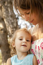 Free Little Girl And Mother In The Park Stock Photography - 20357712