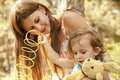 Free Little Girl And Mother In The Park Stock Photos - 20357723