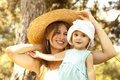 Free Little Girl And Mother In The Park Stock Image - 20357731