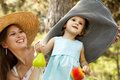 Free Little Girl And Mother In The Park Stock Images - 20357744