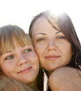 Free Two Beautiful Girls Stock Photo - 20357980