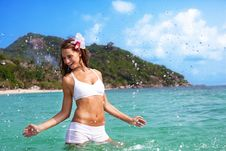 Free Splash Emotion Stock Image - 20350261