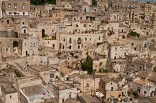 Free Old City Of Matera Royalty Free Stock Images - 20350289