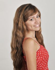 Free Attractive Hispanic Young Woman Royalty Free Stock Photography - 20350617