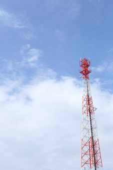 Free Antenna Signal Tower Royalty Free Stock Photography - 20350717