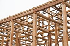 Free Wooden Construction. Stock Photo - 20351010