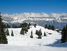 Free Winter In Alps Royalty Free Stock Photo - 20351325