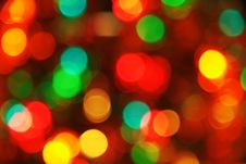Free Christmas Lighting Background Royalty Free Stock Photo - 20351535