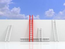 Ladder Of Success Concept Stock Photos