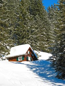 Free Winter In Alps Royalty Free Stock Photo - 20351725