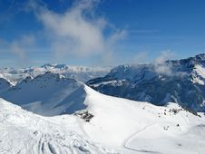 Free Winter In Alps Stock Image - 20351751