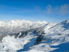 Free Winter In Alps Stock Photography - 20351772