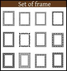 Free Frame Illustration Royalty Free Stock Photography - 20351847