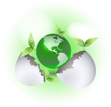 Free Green Design Royalty Free Stock Image - 20351876