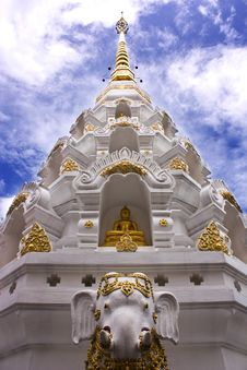 Free Wat Klang Wiang. Stock Images - 20351934