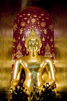 Free Golden Buddha In Northern Thailand Royalty Free Stock Photos - 20352178