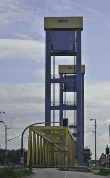 Vertical-Lift Bridge Stock Images
