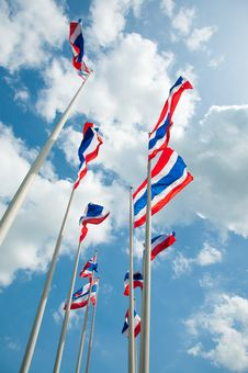 Free Thailand Flag Stock Images - 20352904