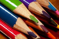 Free Color Pencils Royalty Free Stock Photos - 20352938