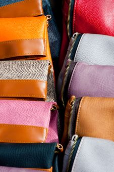Free Leather Purse Stock Photography - 20353392