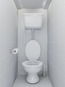 Free Toilet Interior Stock Images - 20353664