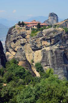 Free Monastery Meteora Royalty Free Stock Image - 20353786