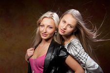 Free Two Beautiful Women Stock Images - 20353814